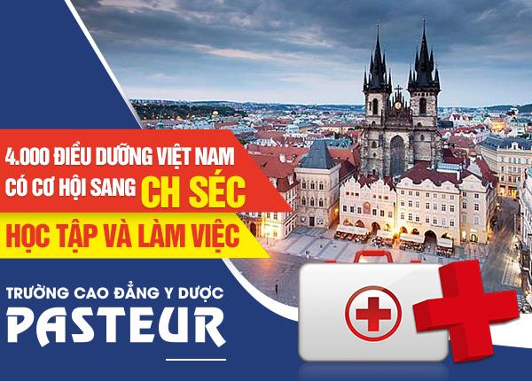 4.000 Điều dưỡng Việt Nam có cơ hội sang CH Séc học tập và làm việc