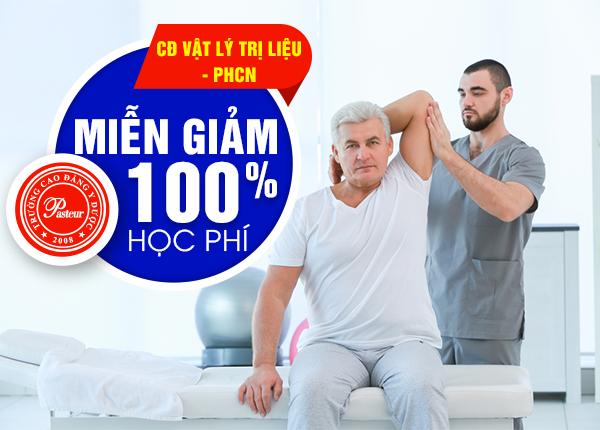 Đăng ký học ngành Vật lý trị liệu được miễn ngay 100% học phí 2019