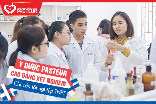 Tuyển sinh Cao đẳng Xét nghiệm chỉ cần tốt nghiệp THPT