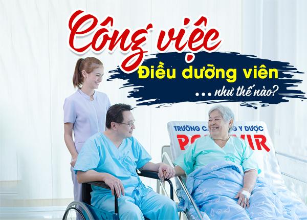 Bảng mô tả công việc của nhân viên Điều dưỡng tại bệnh viện