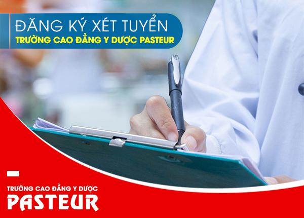 Cách đăng ký xét tuyển Trường Cao đẳng Y Dược Pasteur năm 2019