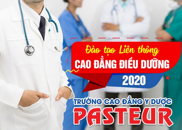 Đào tạo liên thông Cao đẳng Điều dưỡng năm 2020