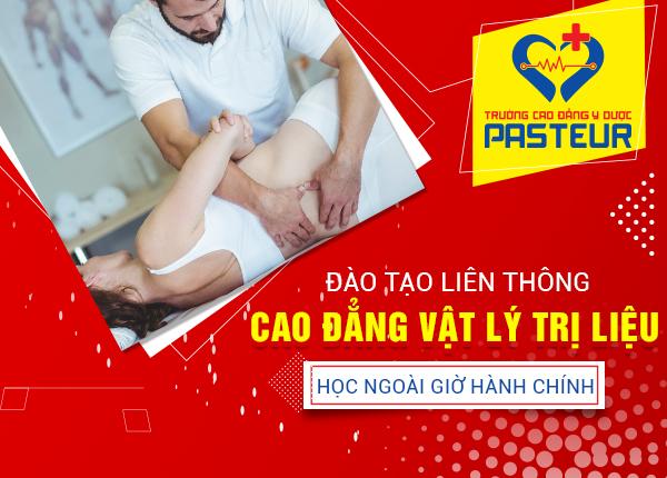 Đào tạo liên thông Cao đẳng Vật lý trị liệu và PHCN