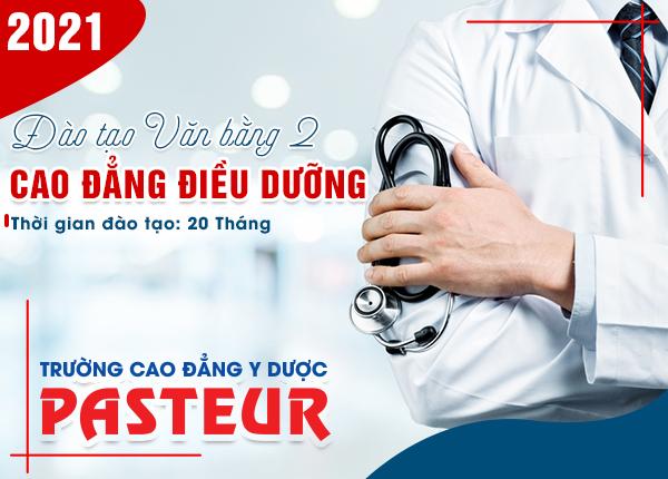 Tuyển sinh văn bằng 2 Cao đẳng Điều dưỡng Hà Nội học Thứ 7 CN năm 2021