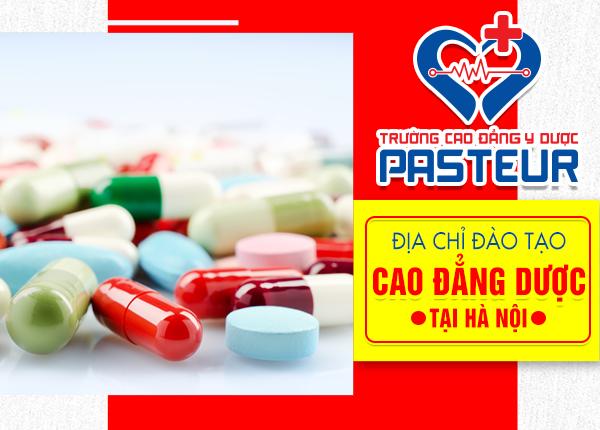 Địa chỉ đào tạo Cao đẳng Dược chính quy tại Hà Nội