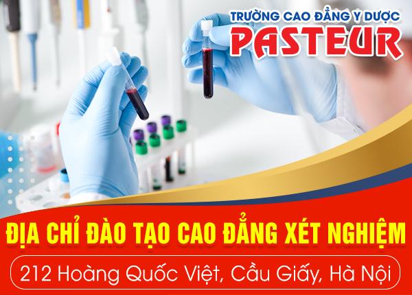 Địa chỉ đào tạo liên thông Cao đẳng Xét nghiệm tại Hà Nội
