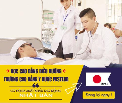 Học Cao đẳng Điều dưỡng để có cơ hội đi xuất khẩu lao động Nhật Bản