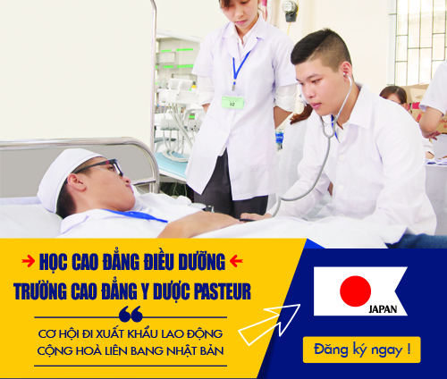 Học ngành Điều dưỡng tại Cao đẳng Y Dược Pasteur để làm việc tại Nhật Bản