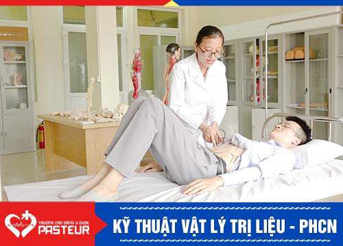 Học ngành Vật lý trị liệu phục hồi chức năng tại Trường Cao đẳng Y Dược Pasteur