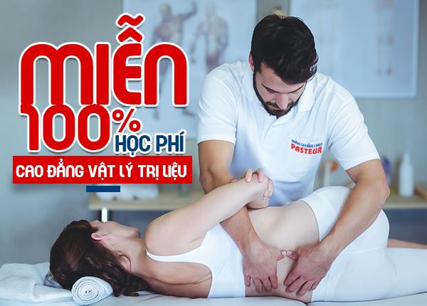 Miễn 100% học phí cho tân sinh viên nhập học Cao đẳng Vật lý trị liệu Hà Nội