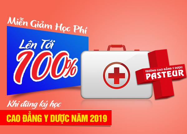Xét tuyển Cao đẳng Y Dược Pasteur Hà Nội miễn 100% học phí năm 2019
