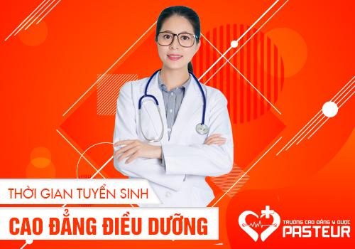 Thời gian nhận hồ sơ xét tuyển Cao đẳng Điều dưỡng Hà Nội 2019 khi nào?