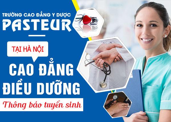 Cơ hội được miễn 100% khi xét tuyển Cao đẳng Điều dưỡng Pasteur 2019