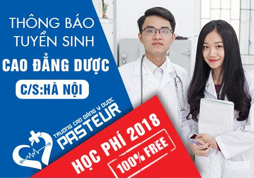 Học phí Cao đẳng Dược Pasteur ở Hà Nội năm 2018 là bao nhiêu?