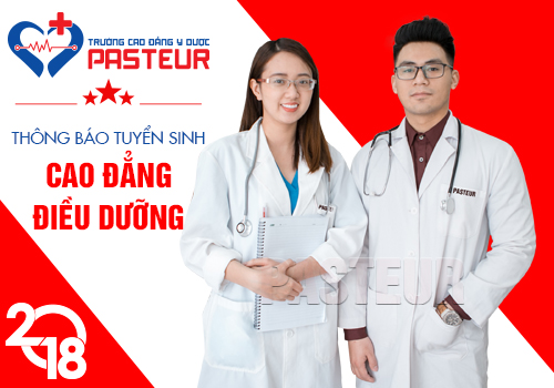 xét tuyển Cao đẳng Điều dưỡng Hà Nội - Trường Cao đẳng Y Dược Pasteur
