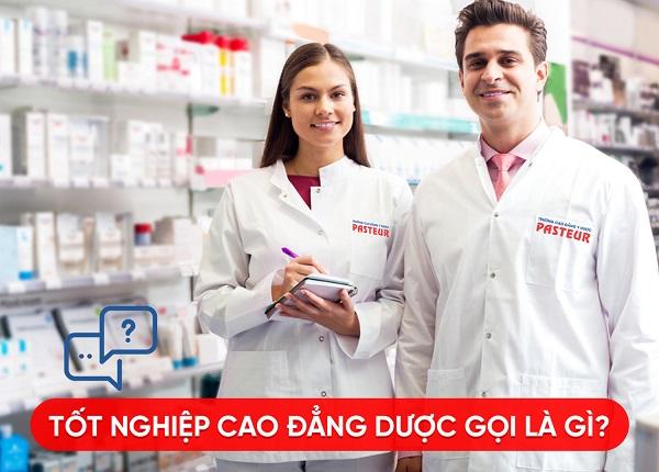 Muốn trở thành Dược sĩ bạn cần phải có bằng Cao đẳng trở lên