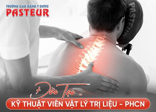 Trường Cao đẳng Y Dược Pasteur tuyển sinh Cao đẳng Vật lý trị liệu năm 2019