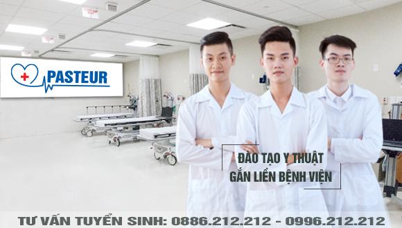 Trường Cao đẳng Y Dược Pasteur đào tạo Y thuật gắn liền bệnh viện