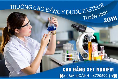 Điểm chuẩn Cao đẳng Xét nghiệm Y học Pasteur Hà Nội năm 2018 như thế nào?