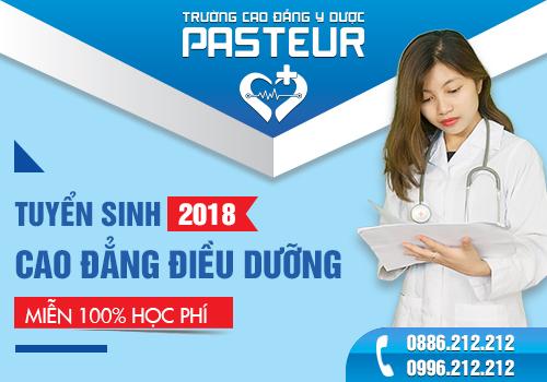 Trường Cao đẳng Y Dược Pasteur Xét tuyển Cao đẳng Điều dưỡng
