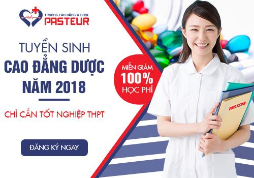 Trường Cao đẳng Y Dược Pasteur tuyển sinh Cao đẳng Dược chính quy