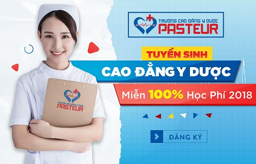 Trường Cao đẳng Y Dược Pasteur tuyển sinh năm 2018