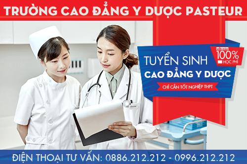 Trường Cao đẳng Y Dược Pasteur đào tạo Cao đẳng Y Dược chính quy
