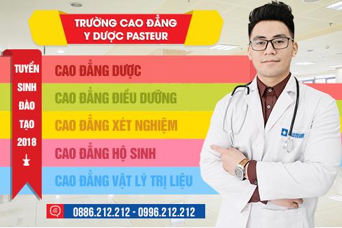 Học khối C vẫn được xét tuyển vào Trường Cao đẳng Y Dược Pasteur