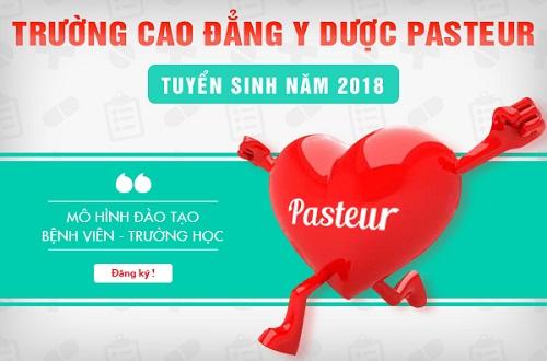Trường Cao đẳng Y Dược Pasteur tuyển sinh Y Dược năm 2018