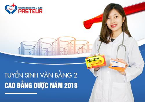 Học Văn bằng 2 Cao đẳng Dược tại Trường Cao đẳng Y Dược Pasteur năm 2018