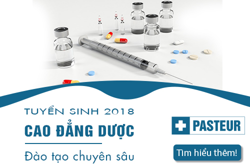 Trường Cao đẳng Y Dược Pasteur Xét tuyển Cao đẳng Dược Hà Nội năm 2018