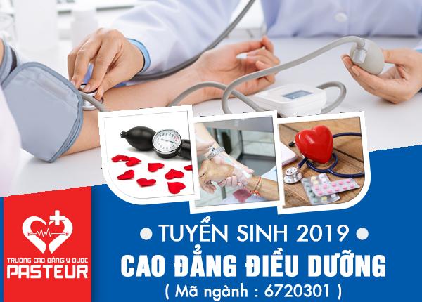 Tuyển sinh Cao đẳng Điều dưỡng năm 2019