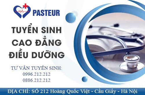 Trường Cao đẳng Y Dược Pasteur là địa chỉ uy tín đào tạo Cao đẳng Điều dưỡng