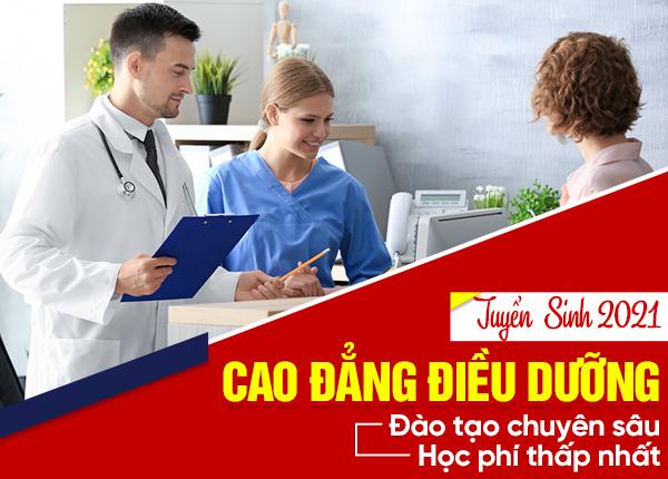 Tuyển sinh Cao đẳng Điều dưỡng Hà Nội năm 2021