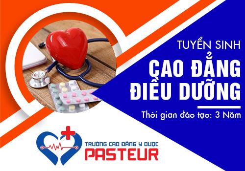 Học ngành Điều dưỡng tại Trường Cao đẳng Y Dược Pasteur năm 2019