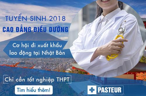 Tuyển sinh Cao đẳng Điều dưỡng năm 2018 chỉ cần tốt nghiệp THPT