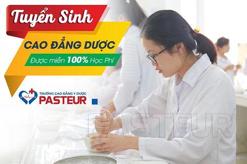 Trường Cao đẳng Y Dược Pasteur tuyển ính Cao đẳng Dược hệ chính quy