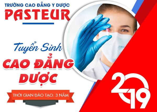 Trường Cao đẳng Y Dược Pasteur tuyển sinh Cao đẳng Dược Hà Nội
