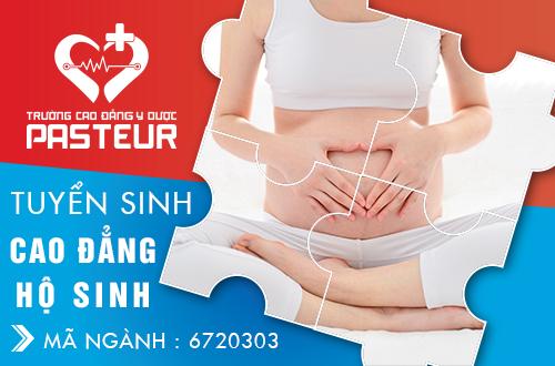 Thí sinh nam có thể đăng ký học ngành Hộ sinh tại Trường Cao đẳng Y Dược Pasteur