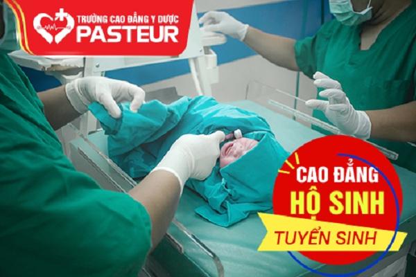 Học Cao đẳng Hộ sinh ở Trường Cao đẳng Y Dược Pasteur