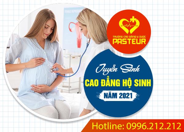 Tuyển sinh Cao đẳng Hộ sinh Hà Nội năm 2021