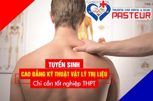 Học ngành Vật lý trị liệu – Phục hồi chức năng tại Trường Cao đẳng Y Dược Pasteur