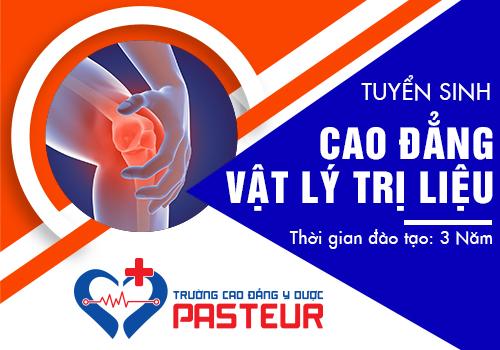 Học Cao đẳng Vật lý trị liệu tại Trường Cao đẳng Y Dược Pasteur