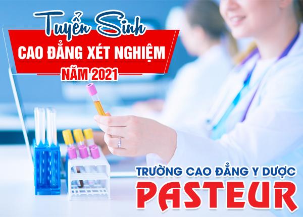 Tuyển sinh Cao đẳng Kỹ thuật xét nghiệm y học năm 2021