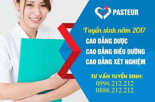 Trường Cao đẳng Y Dược Pasteur là địa chỉ uy tín đào tạo Cao đẳng Y Dược trên cả nước