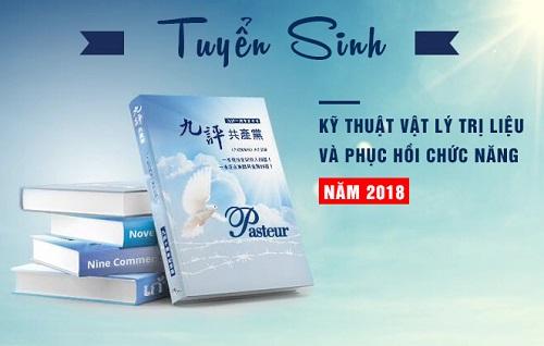 Tuyển sinh Văn bằng 2 Trung cấp Vật lý trị liệu Hà Nội năm 2018