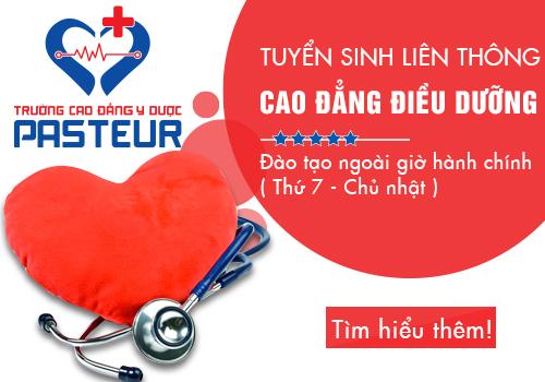 Liên thông Cao đẳng Điều dưỡng 2018 học Thứ 7 Chủ nhật tại Hà Nội