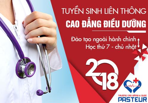 Liên thông Cao đẳng Điều dưỡng năm 2018