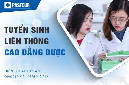 Liên thông Cao đẳng Dược tại Hà Nội có lớp buổi tối không?