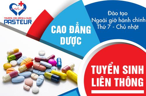 Tuyển sinh liên thông Cao đẳng Dược tại Hà Nội năm 2019 học Thứ 7 Chủ nhật
